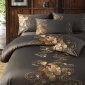 中国风古典民族套件 60长绒棉刺绣花四件套 床上用品批发