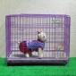 加密特粗精品狗笼子猫笼兔笼可折叠泰迪贵宾雪纳瑞活底宠物笼